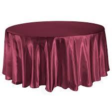 Cranberry - Satin Tablecloth