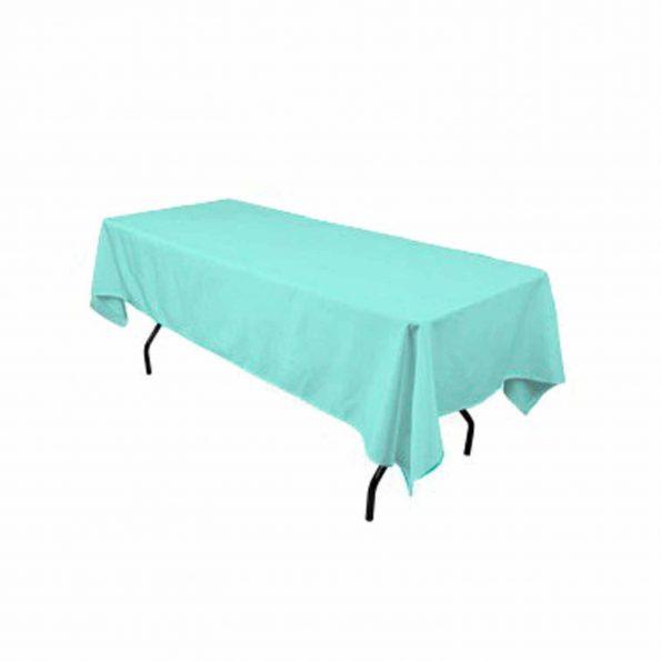 Aqua Blue Tablecloth