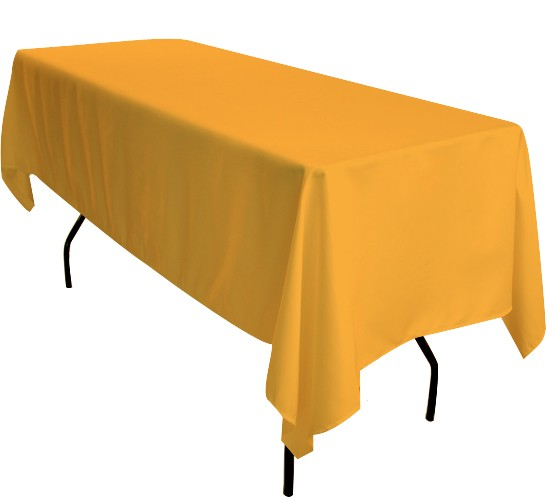 Sunshine Yellow Tablecloth