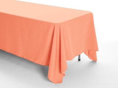 Peachy/ Orange Tablecloth