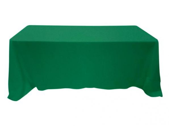 Forest Green Tablecloth