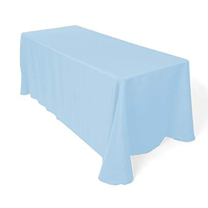 Wolmers Blue Tablecloth