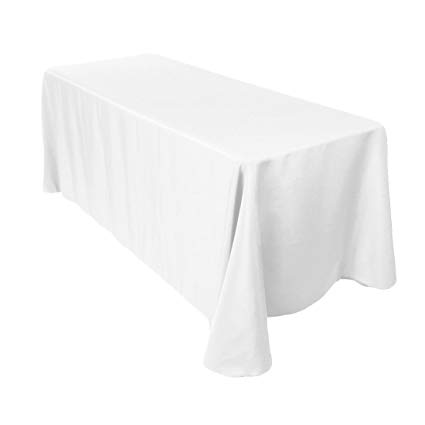 White Banquet Tablecloth