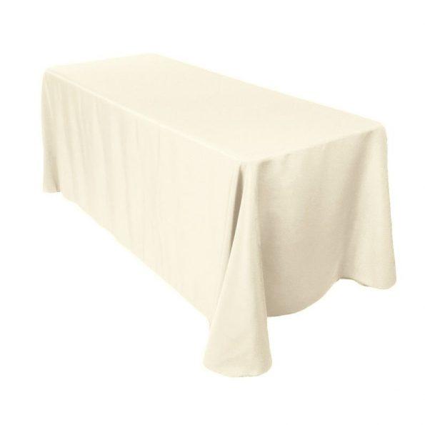 Dark Ivory Banquet Tablecloth