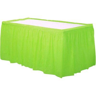 Lime Green Skirtings