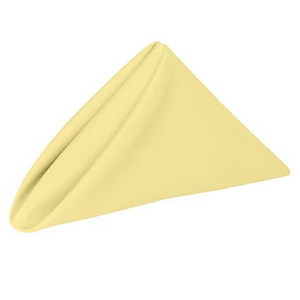 Banana Yellow Napkins