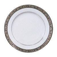 "Paradise Silver Rim 10"" Plates"