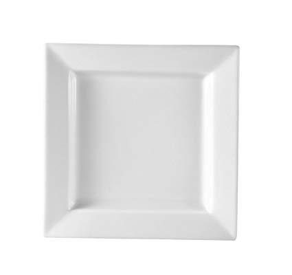 "7"" - Square - White Plates"