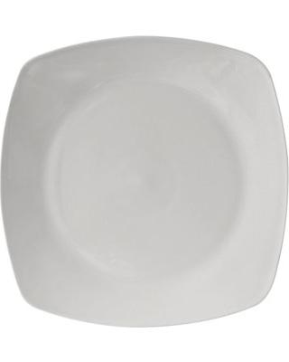 "9"" Semi Round - White (Breakfast)"