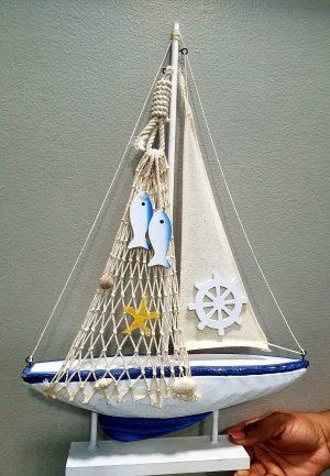 Nautical Boat 18''