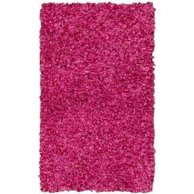 Fuschia Pink Rug 5ftx7ft