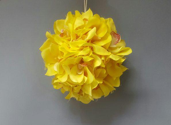 Orchid Ball Yellow Ball