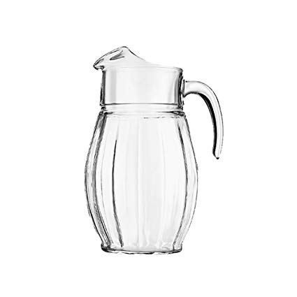 Toros Water Pitcher Glass