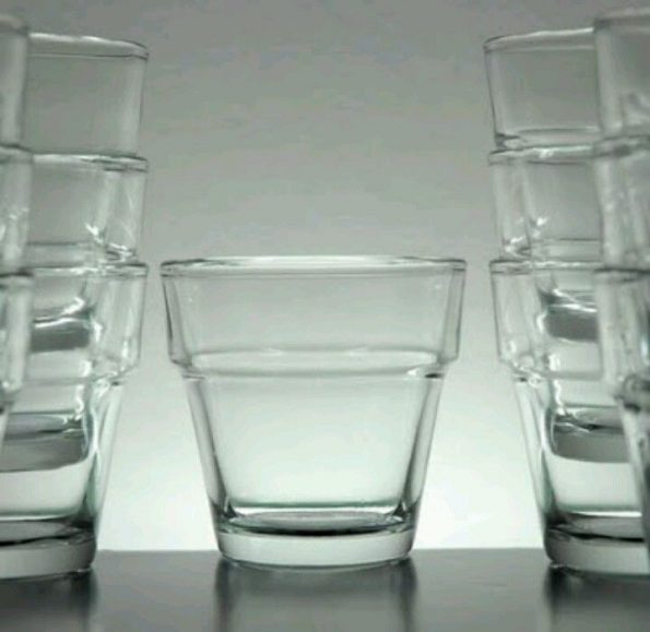 Ikea Clear Votive Candle Holders
