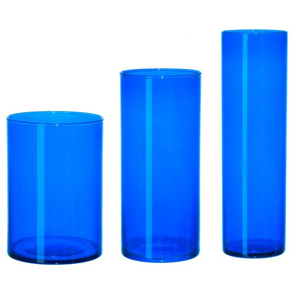 6' Colbalt Blue Candle Holders