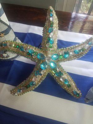"""Glitter Starfish 13"""""""
