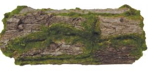 Flower Pot Moss Wood Log