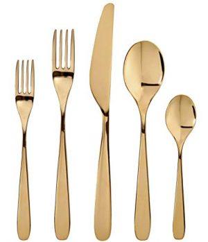 Dinner Knives - GOLD S/S (1st Set)